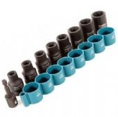 "Makita 9 Piece ½"" Impact Socket Set (B-54645)"